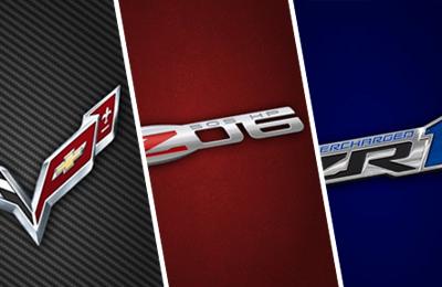 Corvette Logo Wallpaper Generator For Mobile Devices
