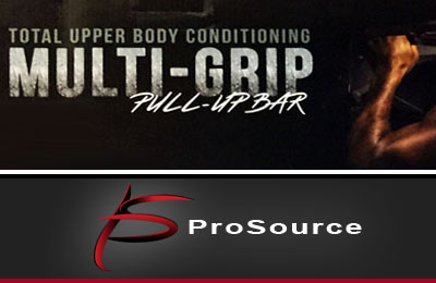 ProSource Heavy-Duty Doorway Chin-Up/Pull-Up Bar